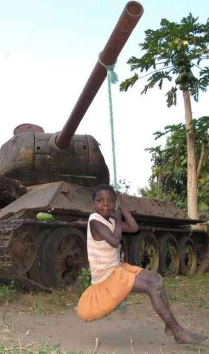 Неожиданное использование танков, которое вас удивит (10 фото)