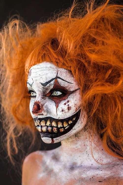 Отличный грим для вечеринки на Хэллоуин (18 фото)
