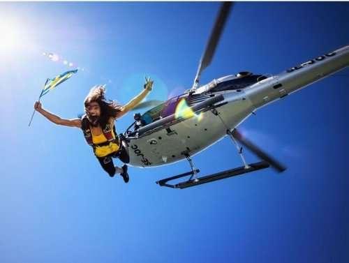 Экстремальные фотографии, сделанные во время прыжков с парашютом (19 шт)