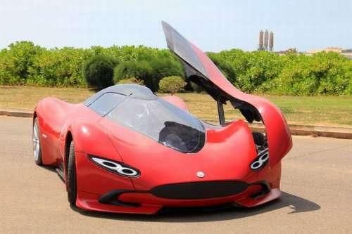Самодельный суперкар, созданный молодым инженером (9 фото)
