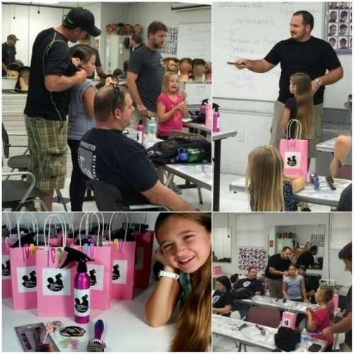 Научившись заплетать волосы дочери, отец-одиночка обучает этому других (5 фото)