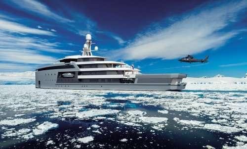 Роскошная яхта-ледокол SeaXplorer для комфортного путешествия (14 фото)