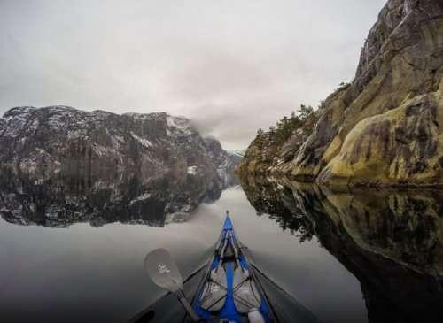 Норвежские красоты в фотографиях Томаша Фурманека (14 фото)
