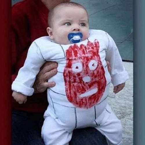 Детские костюмы на Хэллоуин (23 фото)