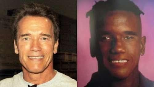 Знаменитости, у которых есть двойники другой расы (11 фото)
