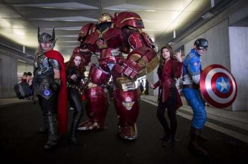 Косплей на международной конвенции Comic Con 2015 в Нью-Йорке (24 фото)