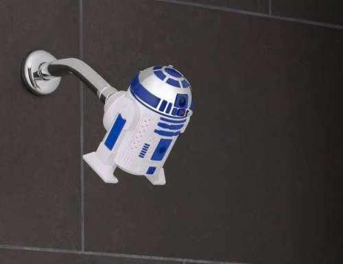 Оригинальные насадки для душа для поклонников Звёздных войн (5 фото)