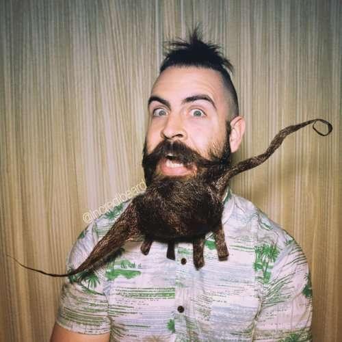 Мистер Крутая Борода и его впечатляющие бороды (26 фото)