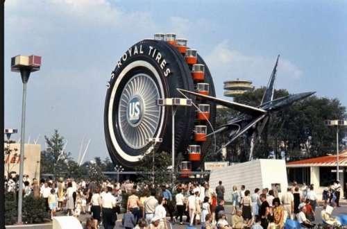 Самые необычные колёса обозрения (10 фото)