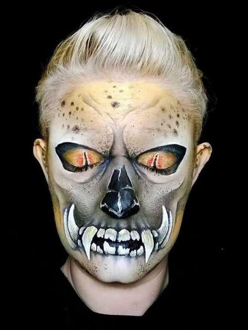 Грим на Хэллоуин от Никки Шелли (23 фото)