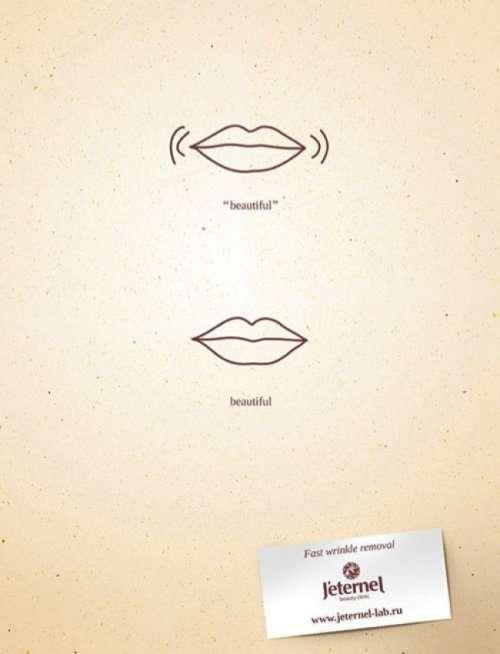 Минималистичная реклама, в которой нет ничего лишнего (16 фото)