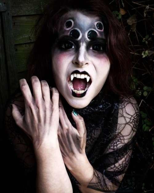 Жуткие и необычные образы на Хэллоуин (29 фото)