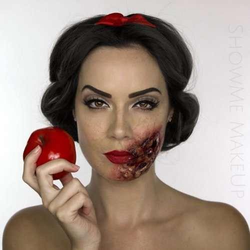 """Диснеевские принцессы, """"убитые"""" визажистом Шоной Скотт (6 фото)"""