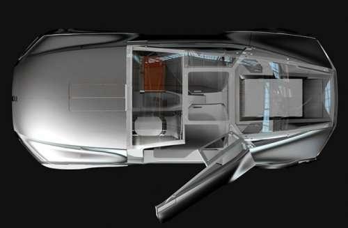 Концепт-кар Renault Le Corbusier, посвящённый знаменитому архитектору (8 фото)