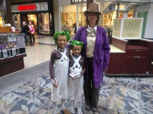 Прикольные групповые костюмы на Хэллоуин (20 фото)
