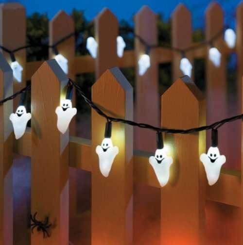 Гирлянды на Хэллоуин (10 фото)