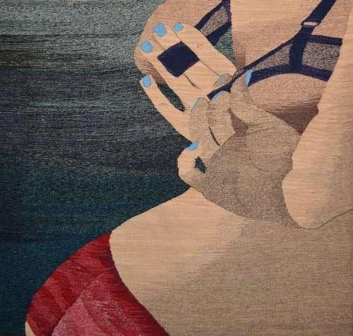 Тканые картины от Эрин М. Райли (22 фото)