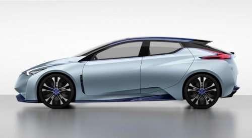 Концепт-кар Nissan IDS, способный ездить в режиме автопилота (10 фото)