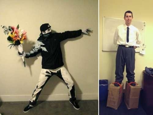 Лучшие костюмы на Хэллоуин (17 фото)