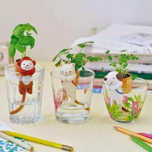 Оригинальные самоувлажняющиеся цветочные горшочки в виде животных (7 фото)