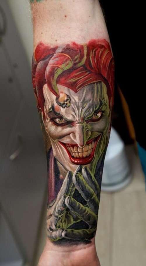 Реалистичные татуировки от Дмитрия Самохина (20 фото)