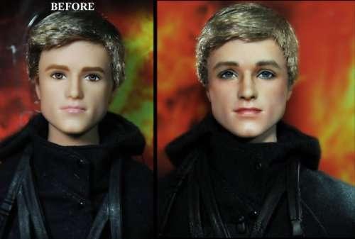 Реалистичные куклы знаменитостей от Ноэля Круза (14 фото)