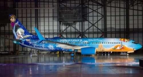 Коммерческие рейсы на тематических авиалайнерах, о которых вы могли не знать (10 фото)