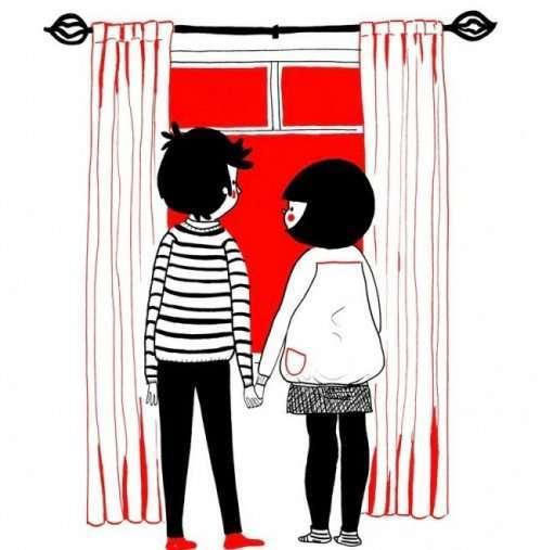 Сентиментально о любви в иллюстрациях Филиппы Райс (14 шт)