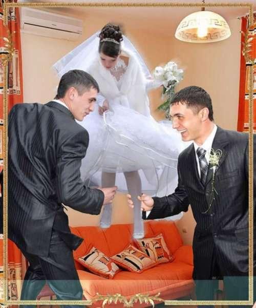 Свадебные фотографии, которые можно было не делать (27 шт)