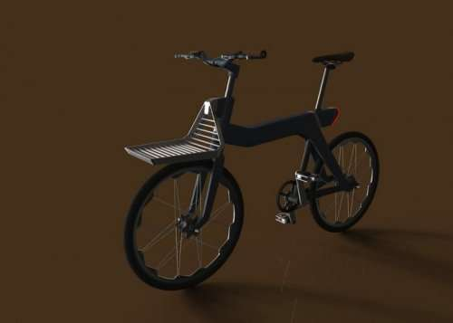 Концепт велосипеда-трансформера RubyBike (10 фото)