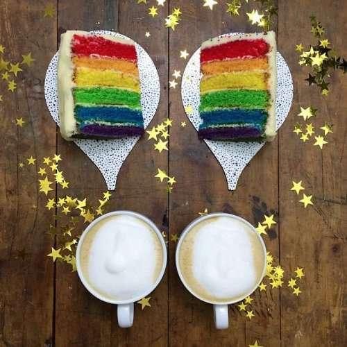 Симметричные завтраки Майкла Зи (15 фото)