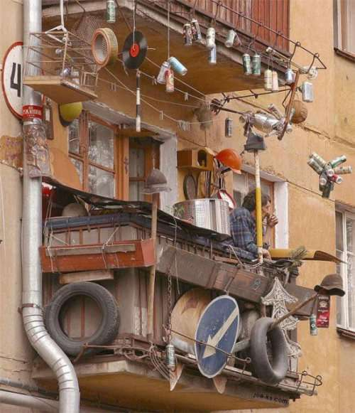 Российские балконы (26 фото)