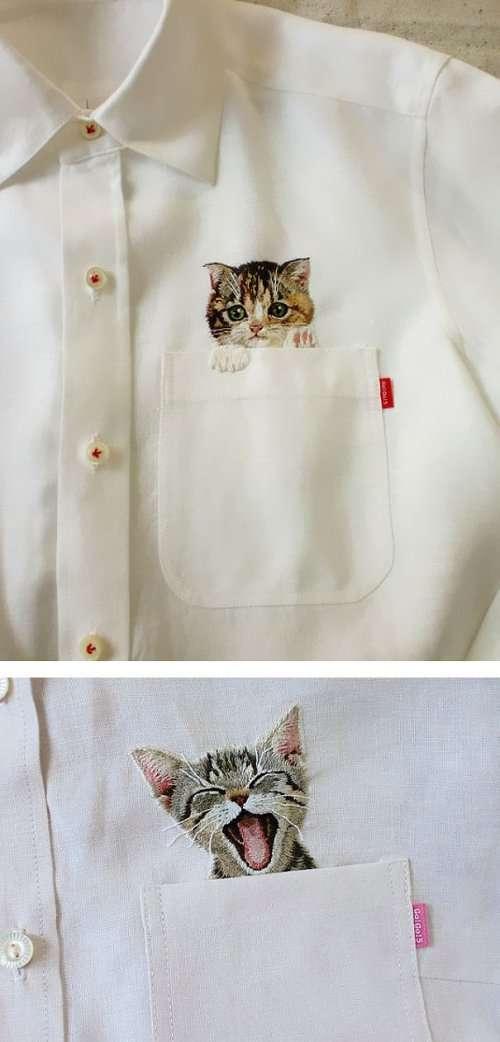 Замуррчательные подарки для любителей кошек (34 фото)