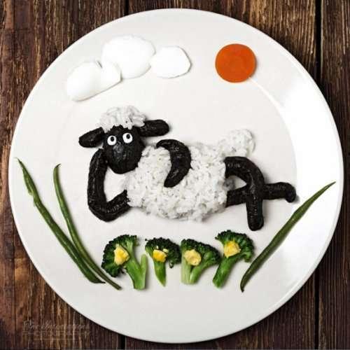 Креативные завтраки для маленьких (10 фото)
