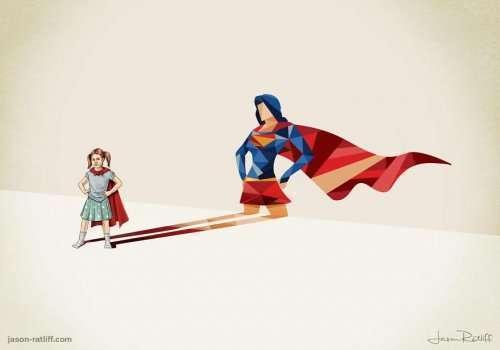 Супертени, или Сила детского воображения (13 фото)