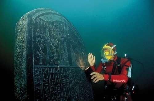 Древнеегипетские реликвии, 12 веков пролежавшие в водах Нила (16 фото)