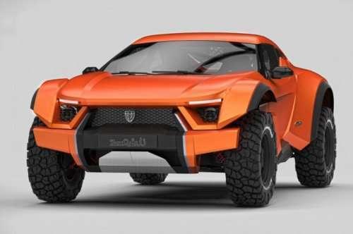 Первый серийный автомобиль Sand Racer из ОАЭ (9 фото)