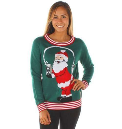 Уродливые рождественские свитеры от TipsyElves (19 фото)