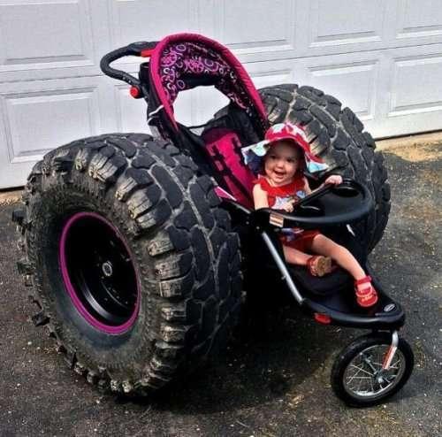 Необычные детские коляски (20 фото)