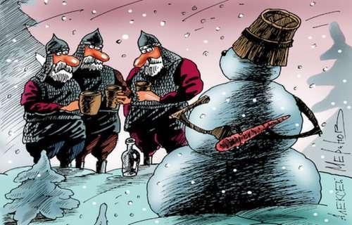 Злободневные карикатуры Алексея Меринова (28 шт)