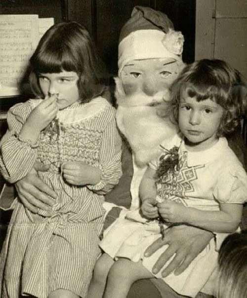 Санта-Клаус уже не тот (17 фото)