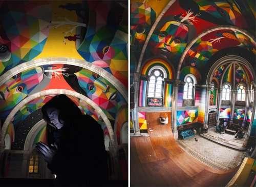В Испании построили скейт-парк в здании бывшей церкви (11 фото)