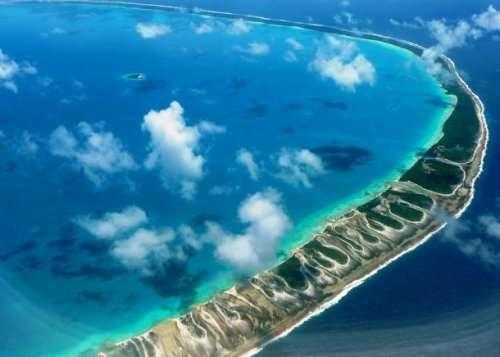 Топ 25: Самые потрясающие атоллы в мире