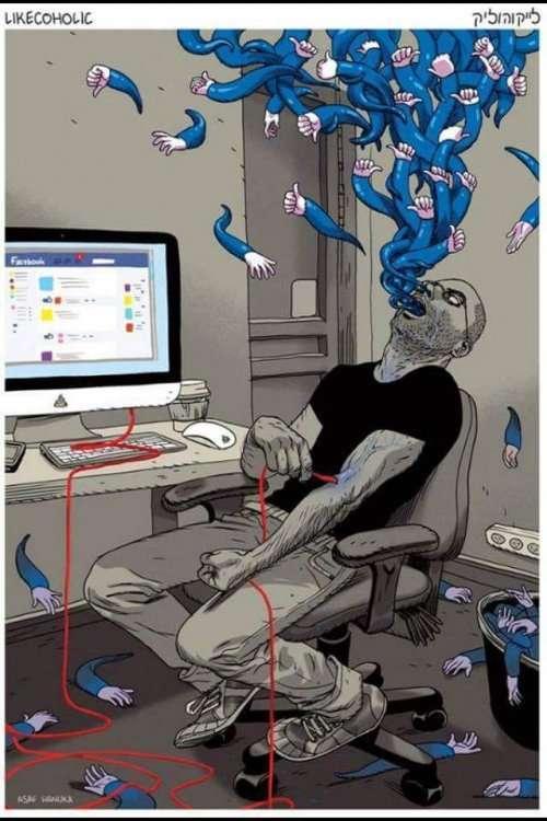 Мощные иллюстрации о современном обществе, заставляющие задуматься (27 фото)
