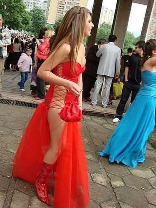 Выпускные платья, которые шокировали нас в этом году (21 фото)