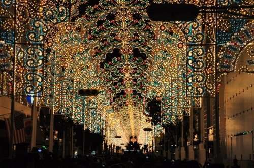 Фестиваль света в Кобе (16 фото)