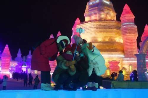 32-ой Международный фестиваль льда и снега в Харбине (21 фото)