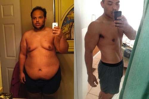 Невероятные превращения из толстых — в стройняшек (30 фото)