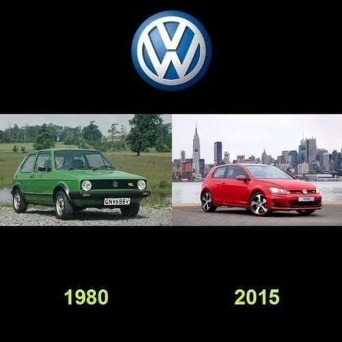 Автомобили известных марок тогда и сейчас (9 фото)