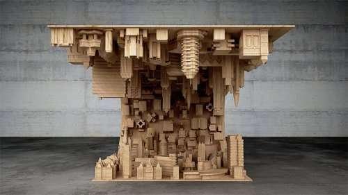 Необычный журнальный столик от Стелиоса Моусарриса (6 фото)